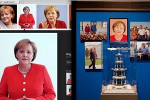 Entre las pinturas que resultaron de esta técnica se encuentra la ministra Angela Merkel Foto:greg.org. Imagen Por: