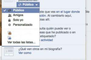 Decidan quién verá su actividad en la red social. Foto:Facebook. Imagen Por: