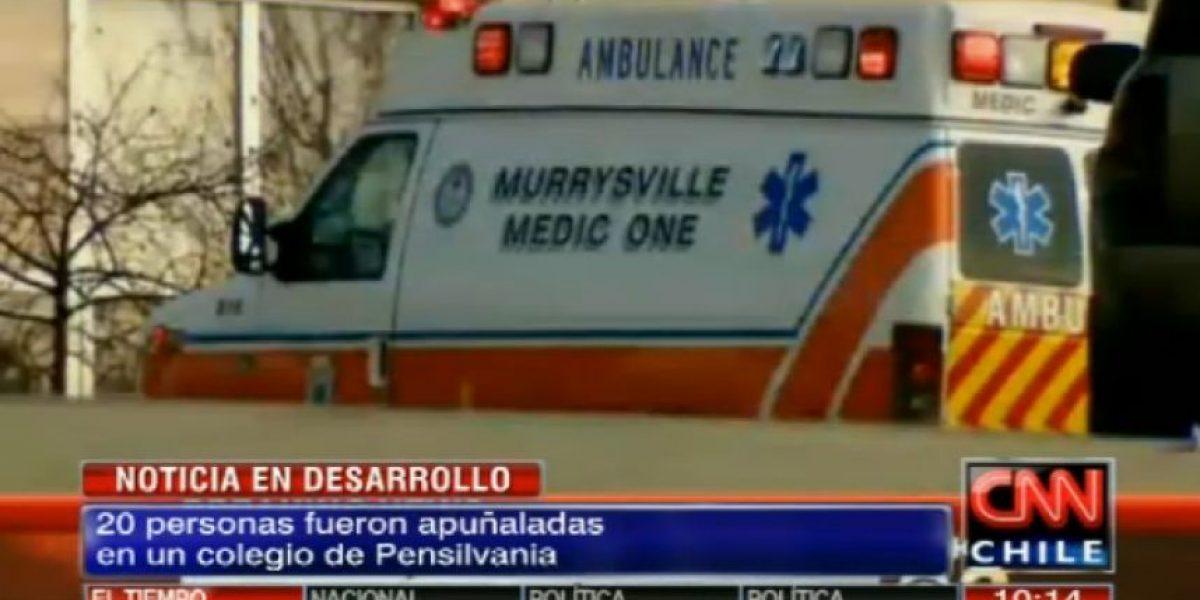 EEUU: Veinte heridos, siete de gravedad, por ataque con un cuchillo en una escuela
