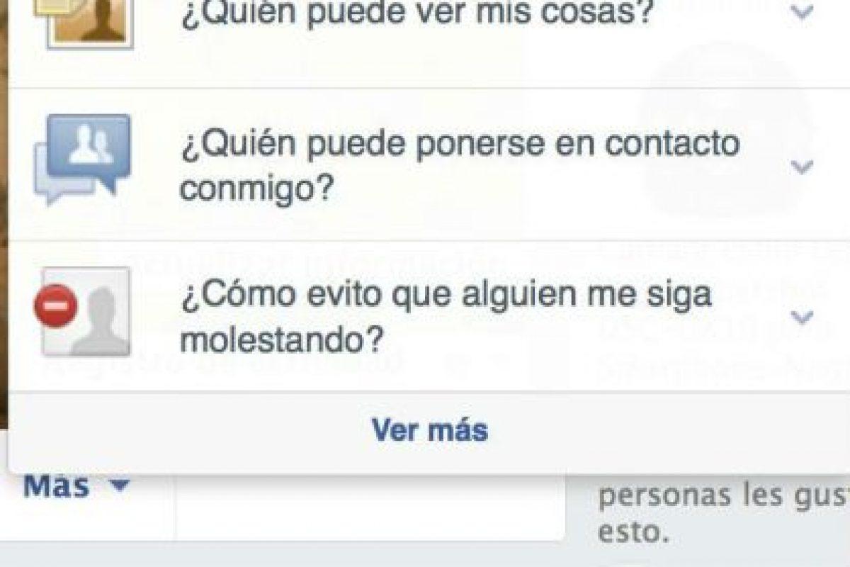 Localicen el icono del candado y den clic. Foto:Facebook. Imagen Por: