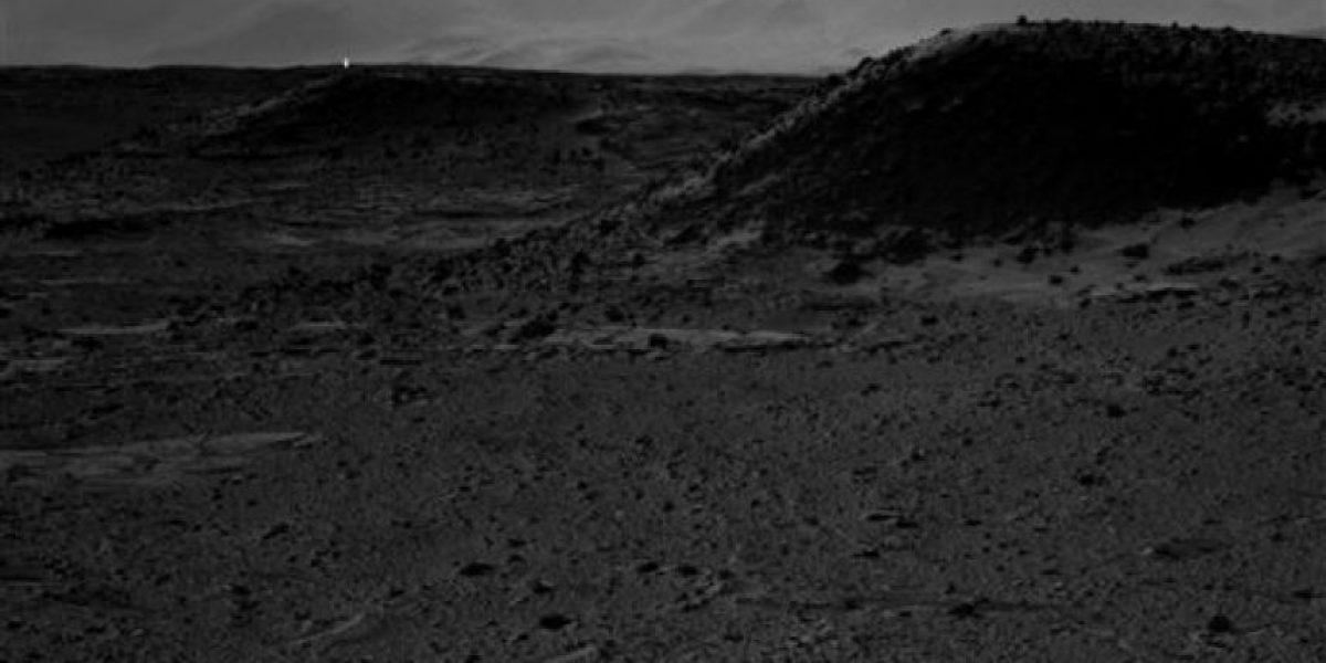 Curiosity capta misteriosa luz en superficie de Marte