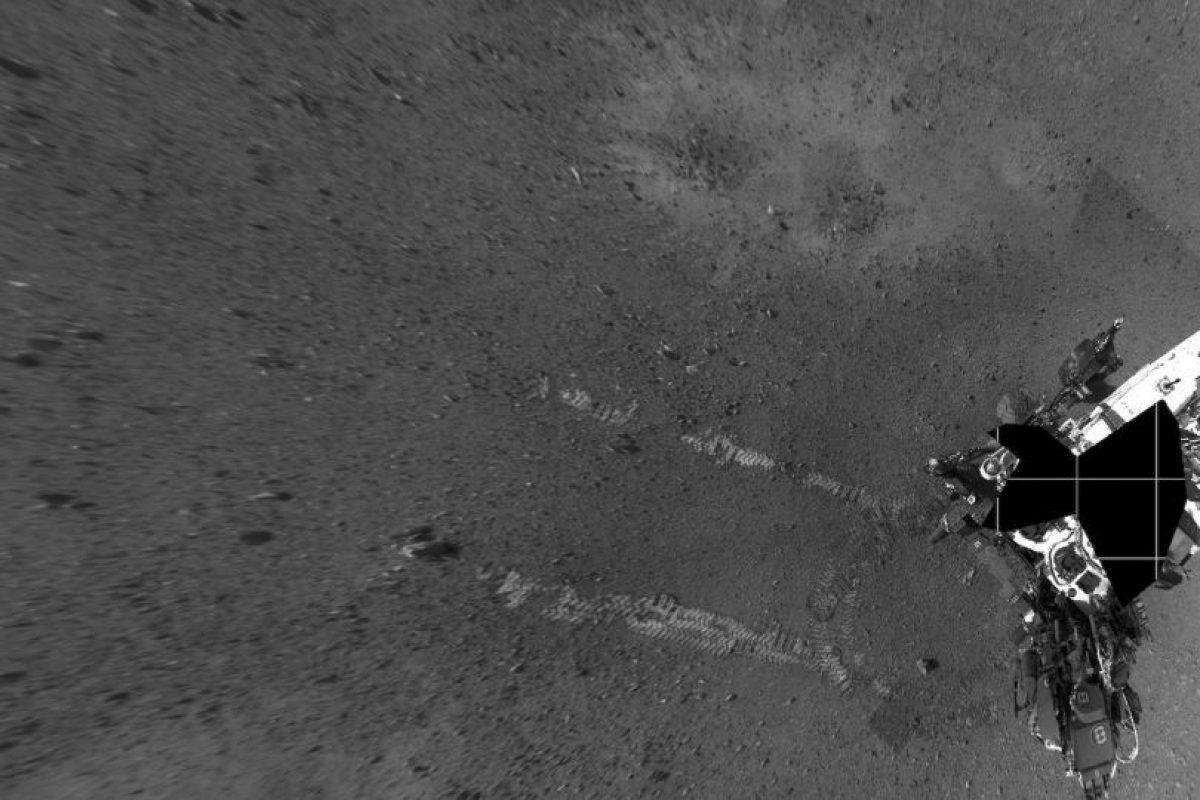 Vista del vehículo capturada con la cámara de navegación Foto:Getty Images. Imagen Por: