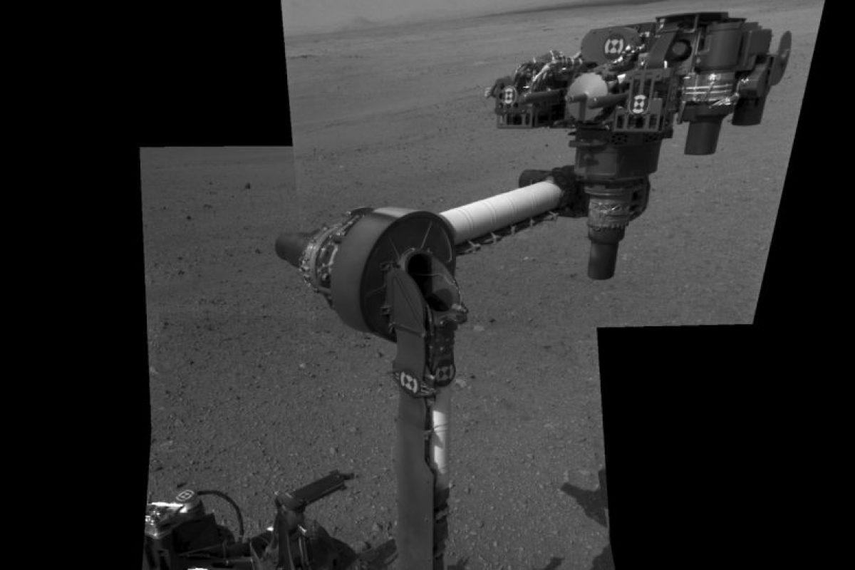 El Curiosity extiende su brazo robótico por primera vez Foto:Getty Images. Imagen Por: