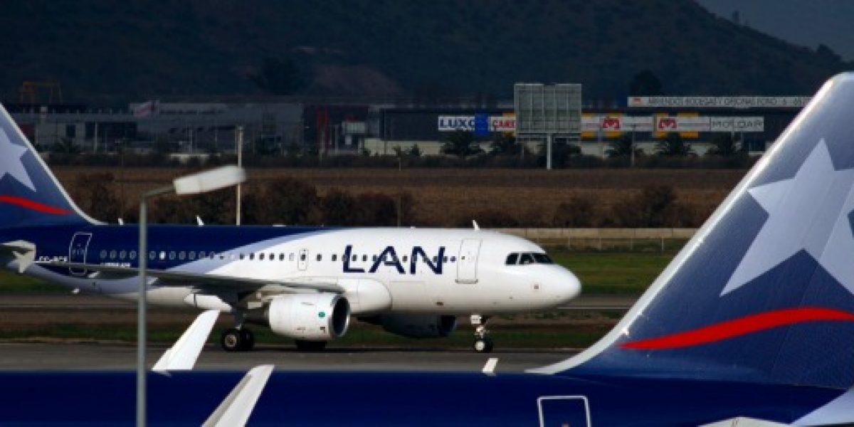 LAN cancela vuelos en Argentina por huelga en ese país