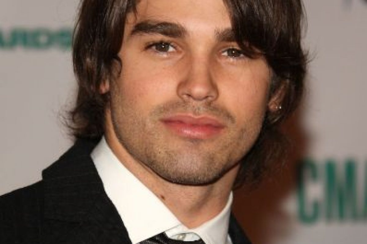 El modelo Justin Gaston. Foto:Getty. Imagen Por:
