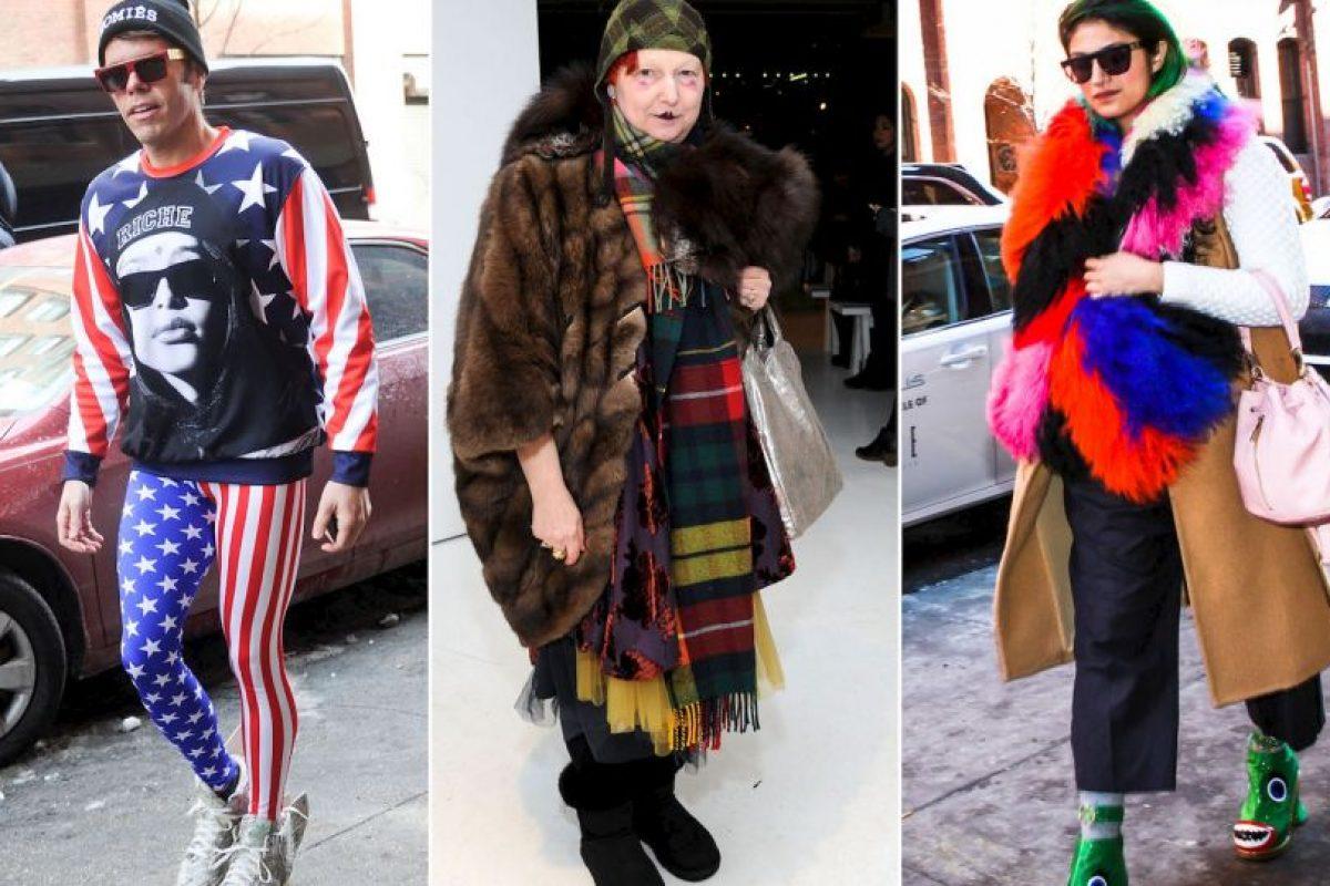 El streetstyle indica que la moda puede ser diversa. Foto :PerezHilton. Imagen Por: