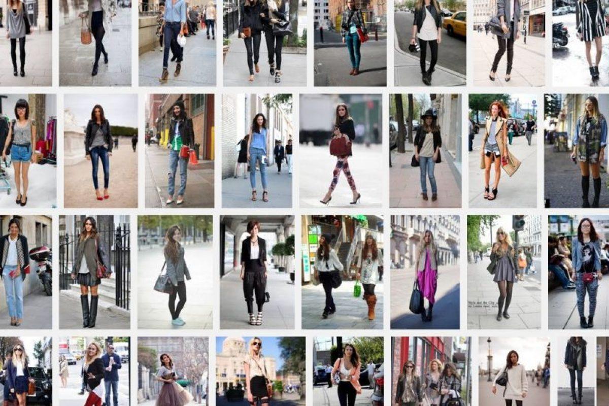 Las mujeres NO se uniforman con la moda. La reinterpretan como quieren. Foto :Captura de pantalla. Imagen Por: