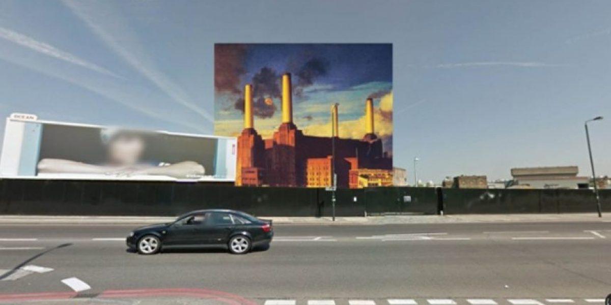 Fotos: 12 portadas de discos clásicos vistas desde Google Street View