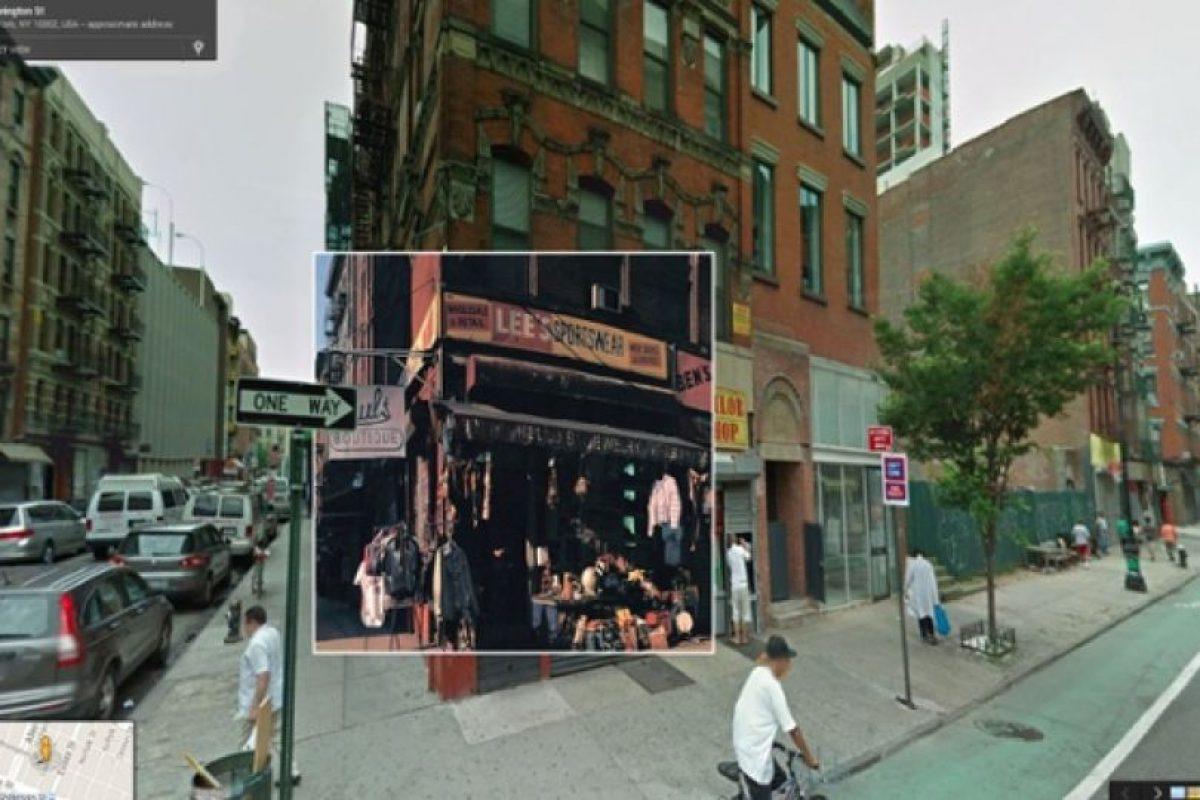 Portada del disco de los Beastie Boys, Paul´s Boutique, en la esquina de las calles Ludlow y Rivington en el Este de Nueva York Foto:Google Stret View-The Guardian. Imagen Por: