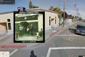 El mercado de pescado Fish Kee en la calle Hollis en Oakland, California, fue la inspiración para la portada del disco Willy and the Poor Boys de Creedence Foto:Google Stret View-The Guardian. Imagen Por: