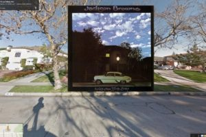 Esta es la portada del disco Late for the Sky de Jackson Brown Foto:Google Stret View-The Guardian. Imagen Por: