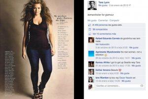 Tara Lynn. En entrevista con Complex, la joven aseguró que sufría por su gran talla durante la adolescencia. Ahora es una de las mujeres más bellas de la industria de la ropa. Foto:Facebook. Imagen Por: