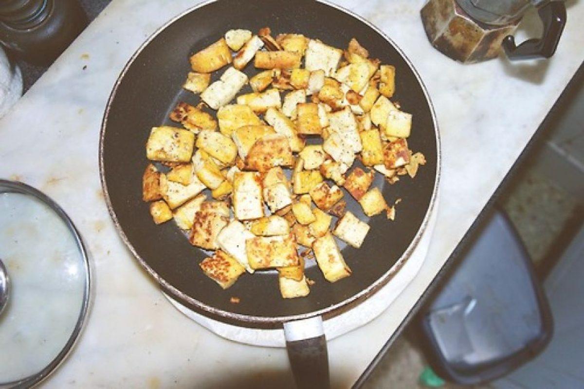 3.- Croquetas de tofu: procesado con arroz yamaní Foto:Tumblr. Imagen Por: