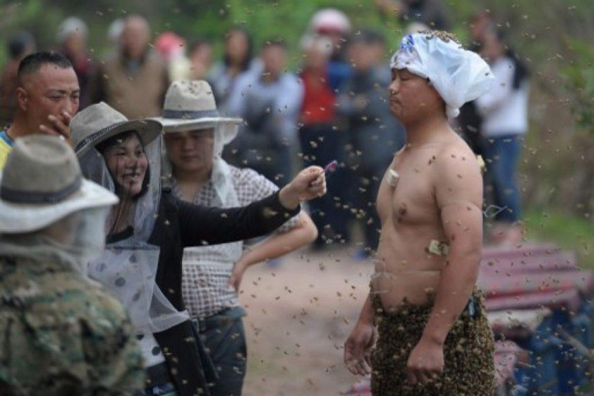 Su esposa también estuvo presente Foto:AFP. Imagen Por:
