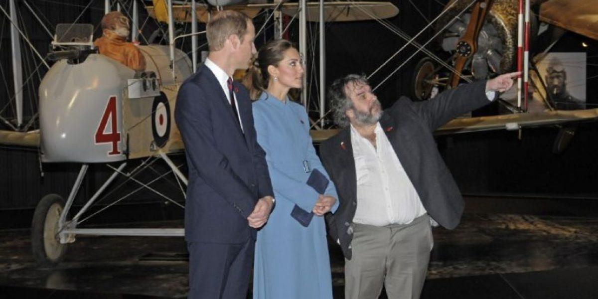Galería: Los Principes de Cambridge se reúnen con Peter Jackson en Nueva Zelanda