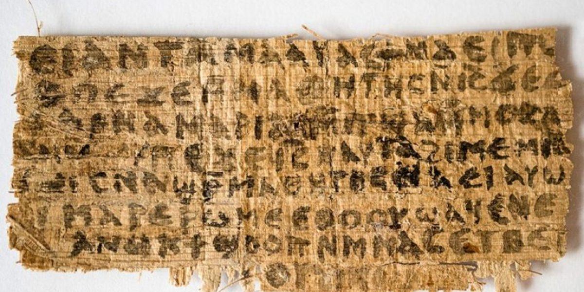 Confirman antigüedad de controvertido papiro que evoca