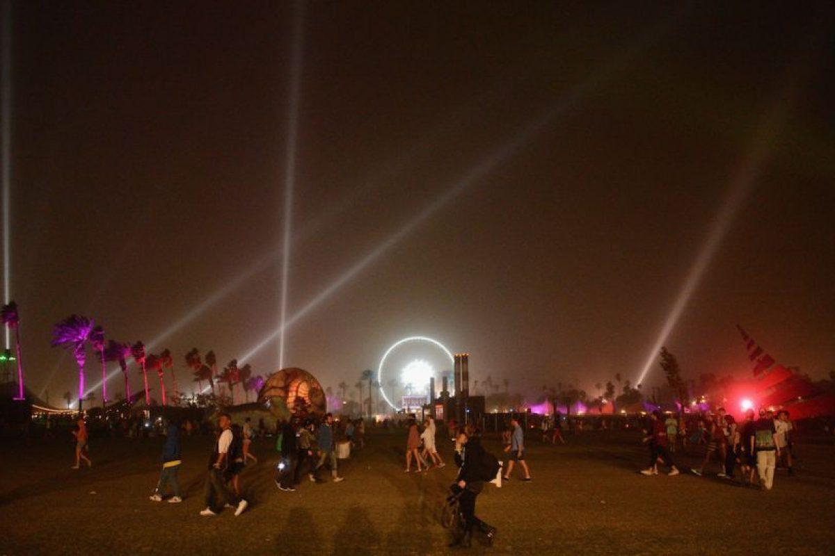La noche en Indio, California. Foto:getty images. Imagen Por:
