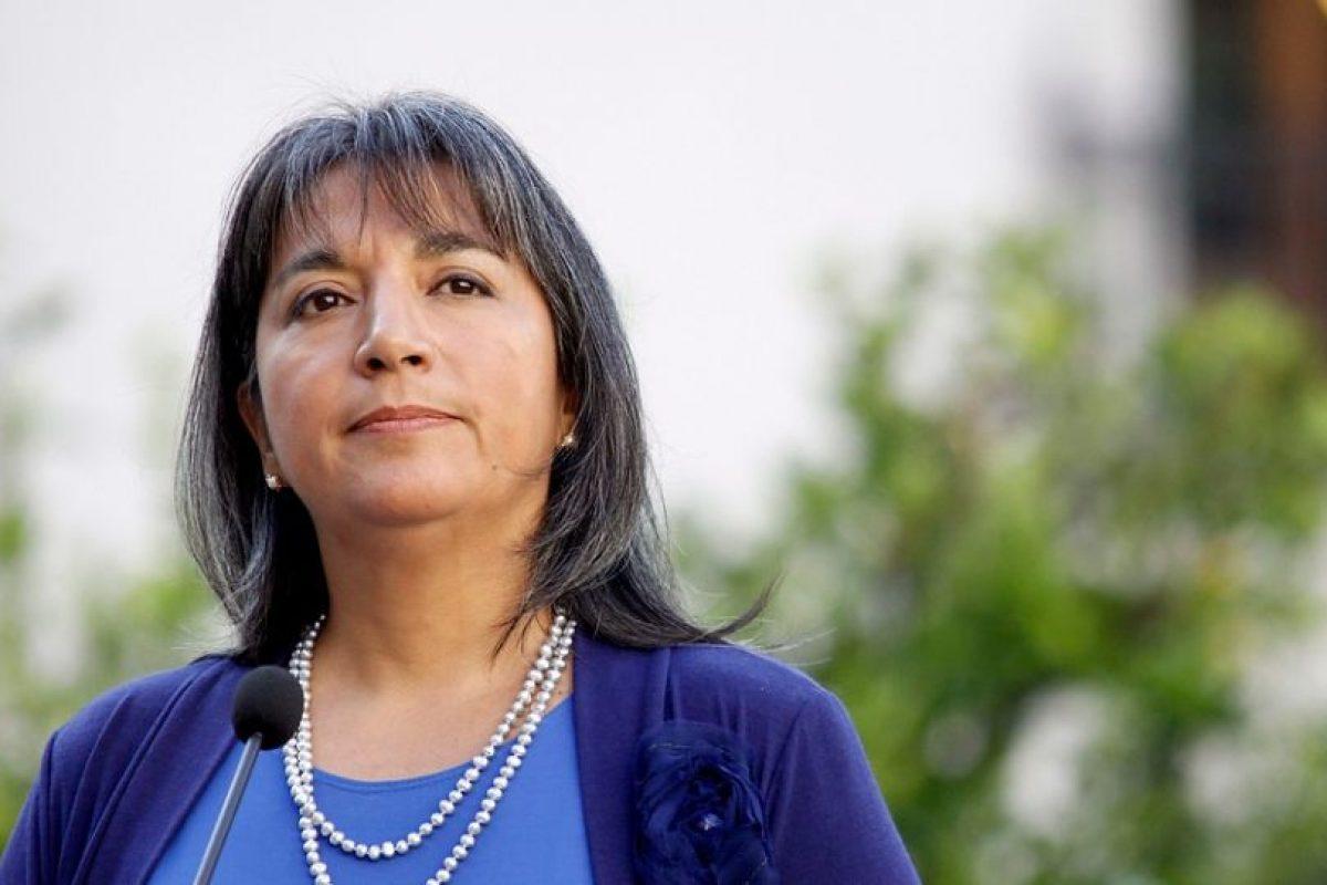 María Fernanda Villegas, la ministra de Desarrollo Social Foto:Agencia Uno. Imagen Por:
