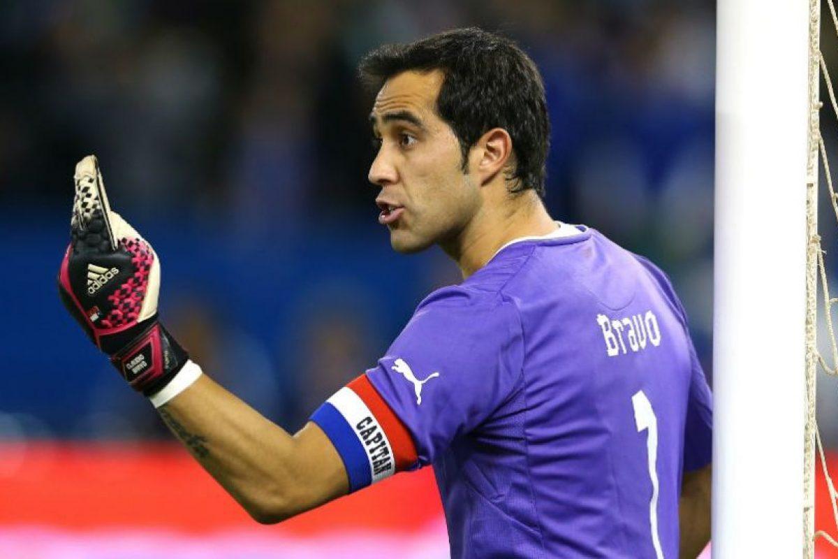 El portero de Chile en la actualidad Foto:Getty Images. Imagen Por: