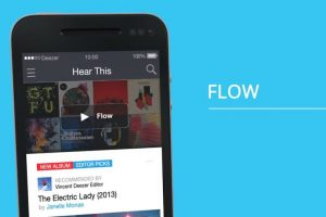 """""""Flow"""" es una de las novedades. Foto:Deezer. Imagen Por:"""