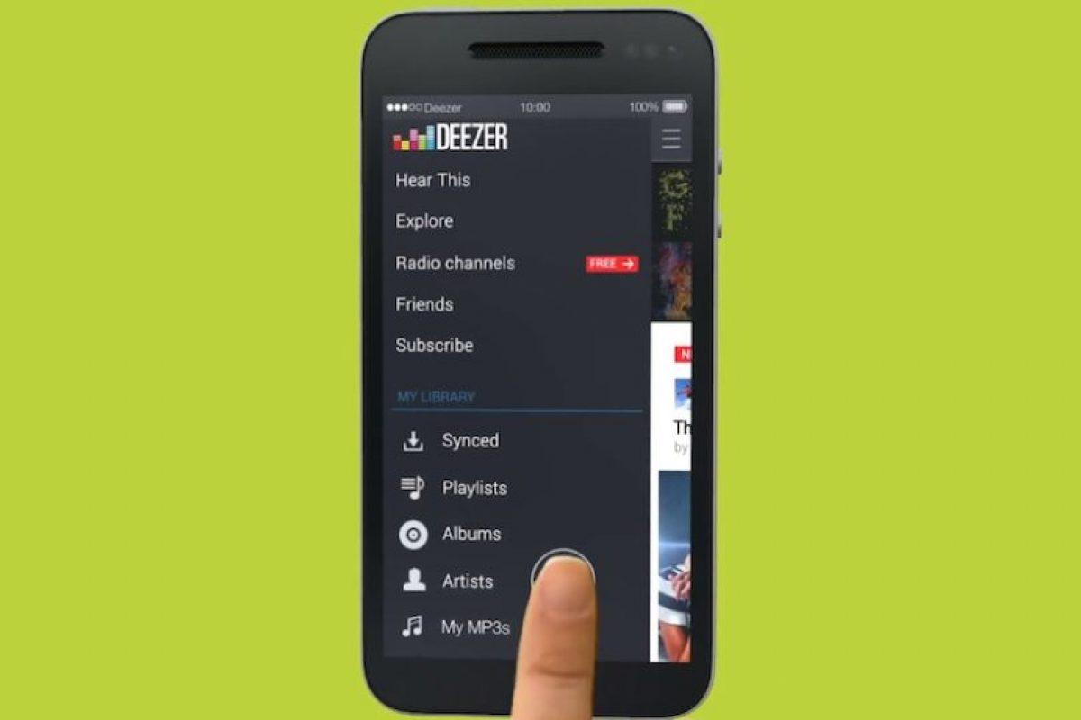 Hay varias opciones para escuchar música gratis en móviles. Foto:Deezer. Imagen Por: