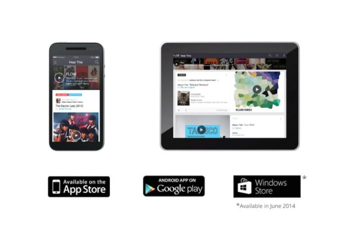 Se anunció app para Windows Phone disponible en junio. Foto:Deezer. Imagen Por:
