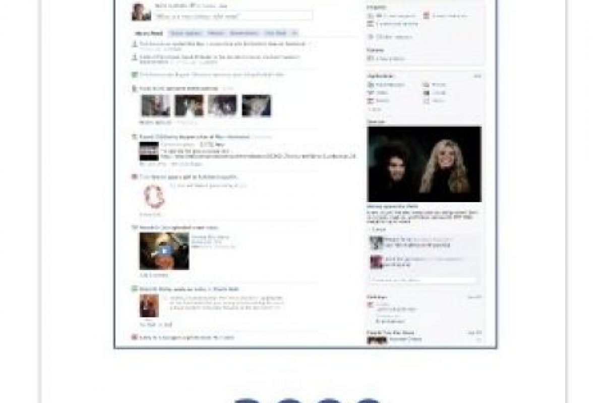 Dos columnas en el Home page. Foto:Facebook. Imagen Por: