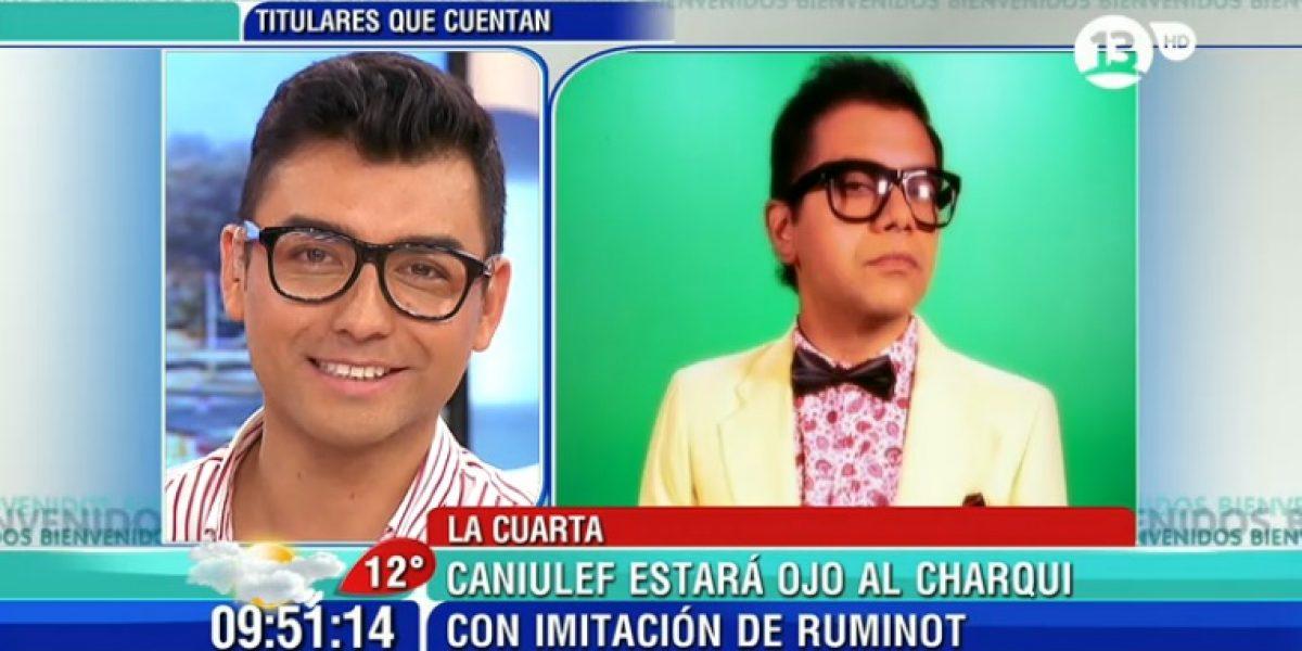 Andrés Caniulef se ríe de nueva imitación de Ruminot y le baja el perfil