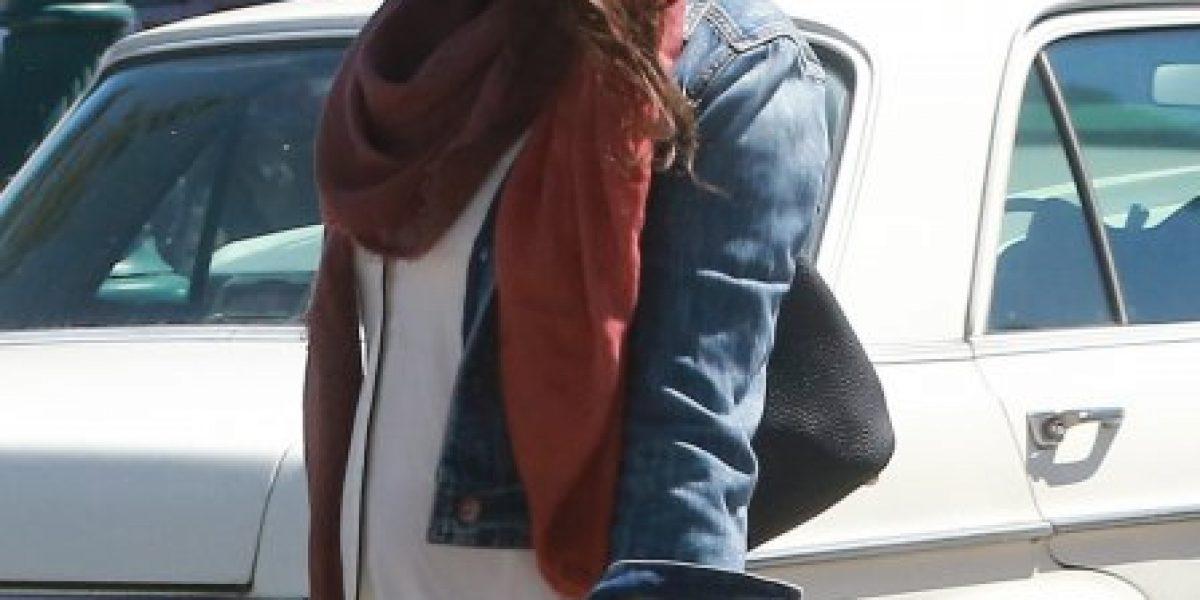 Captan primeras imágenes de Mila Kunis con
