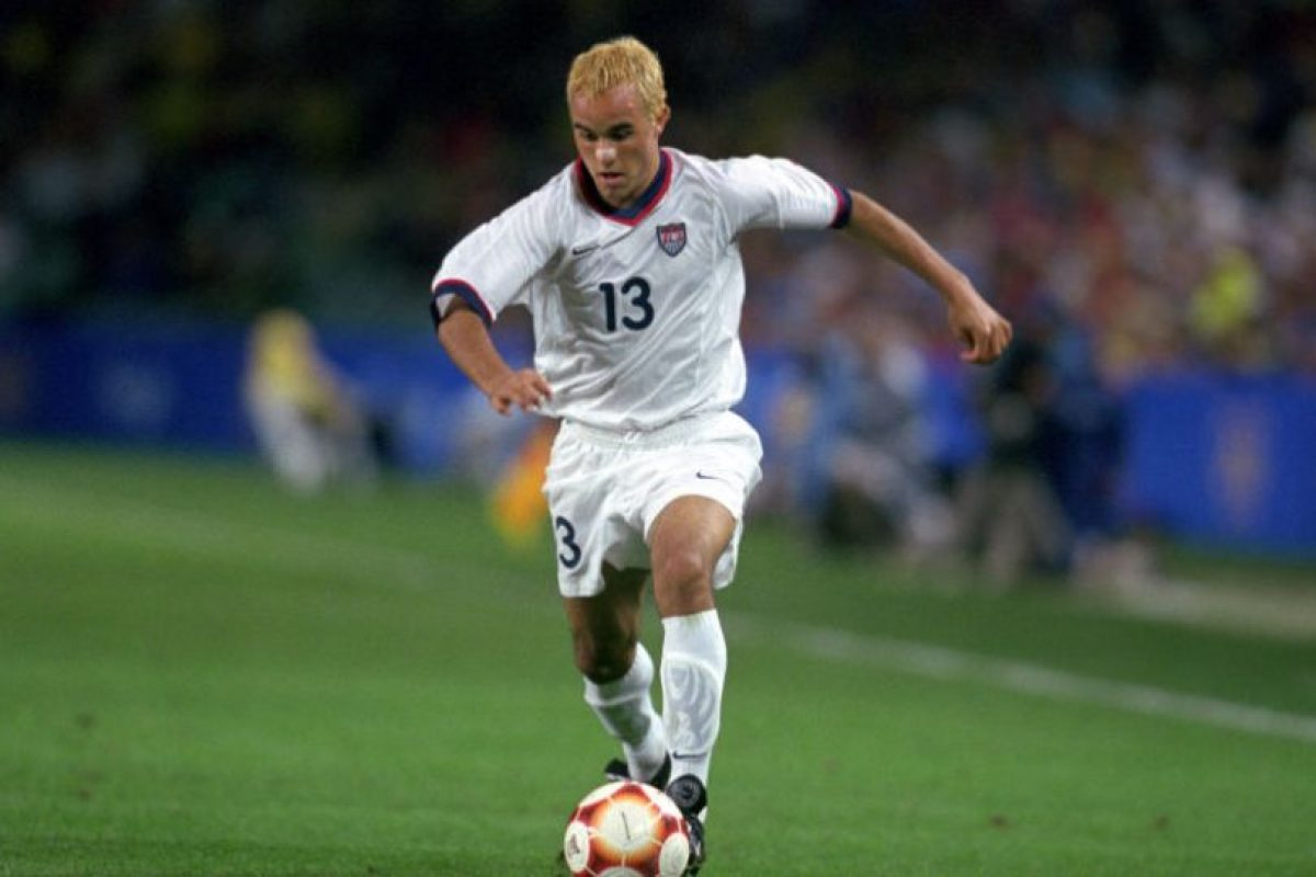 En un juego de la Selección estadounidense en 2000 Foto:Getty Images. Imagen Por:
