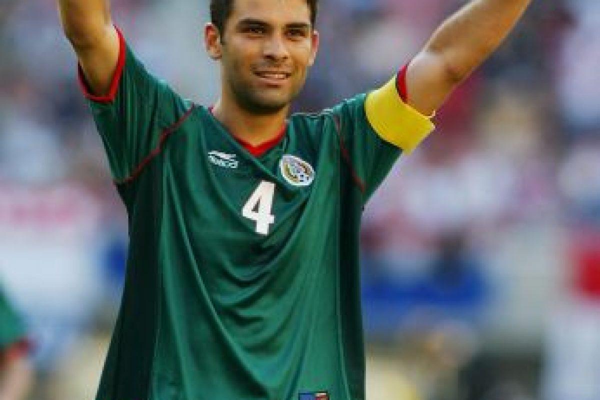 Así lucía en el Mundial de 2002 Foto:Getty Images. Imagen Por: