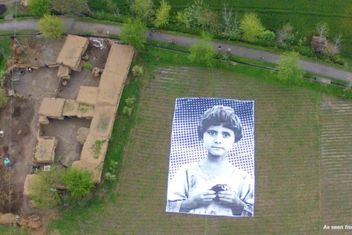 Con imágenes de este tamaño se busca que los drones eviten bombardear estas zonas Foto:#NosABugSplat. Imagen Por: