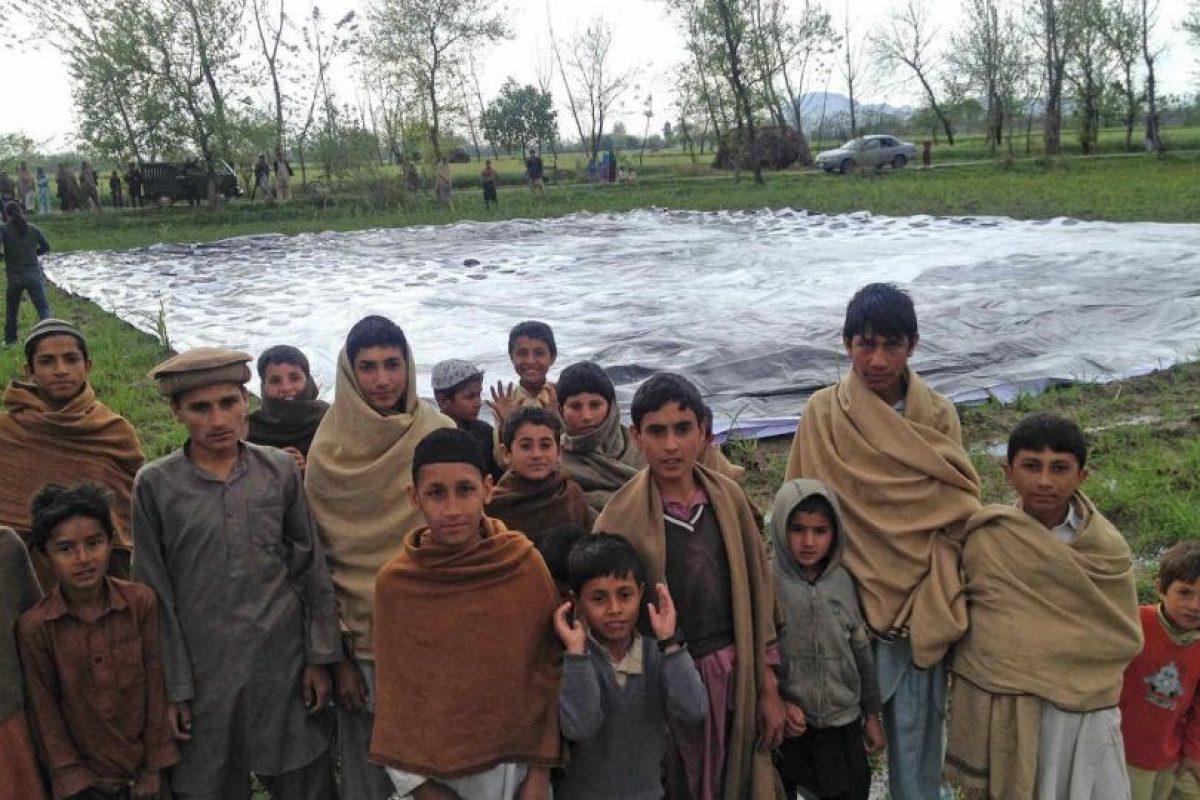 La instalación fue colocada en la región de Pakistán llamada Khyber Pukhtoonkhwa Foto:#NosABugSplat. Imagen Por: