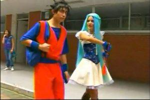 Sí, en 'La Rosa de Guadalupe' los cosplayers son idiotas. De hecho, todos actúan como idiotas. Foto :Captura de pantalla. Imagen Por: