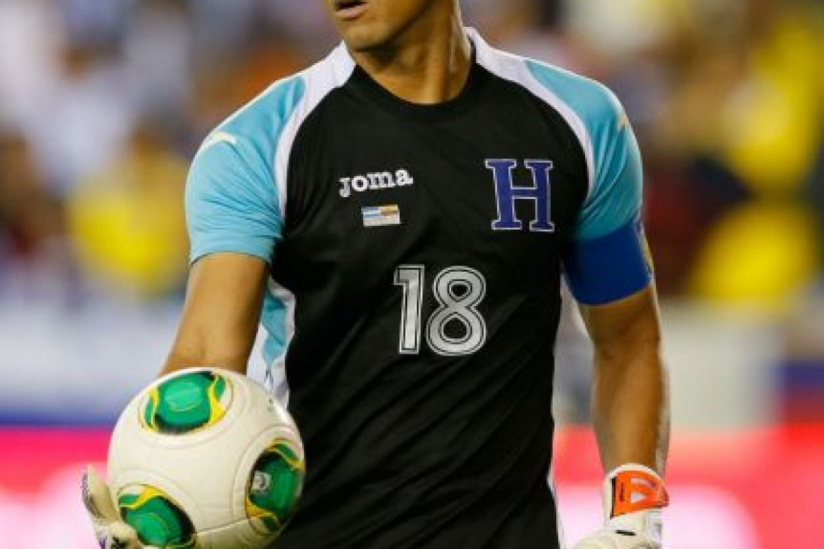 A si luce a sus 36 años el portero de Honduras Foto:Getty Images. Imagen Por: