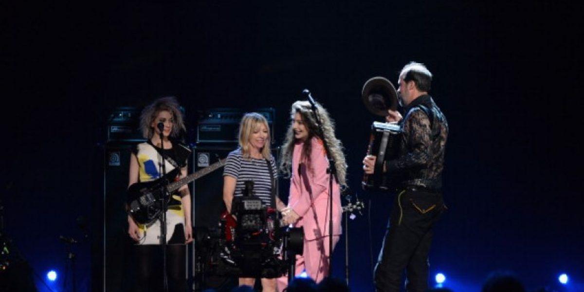 La histórica reunión de Nirvana incluyó a Lorde y Joan Jett