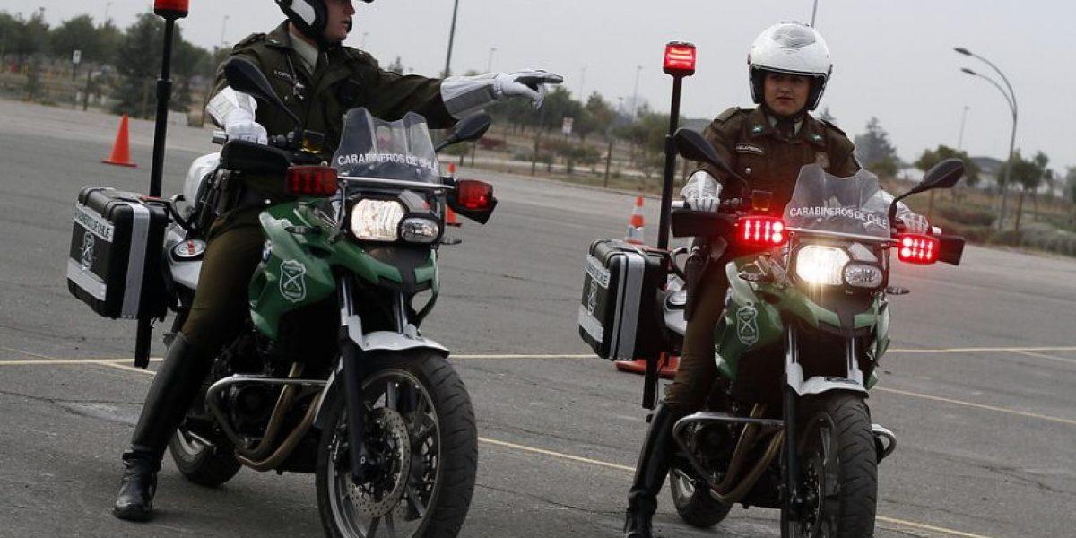 Carabineros adquiere motos que aceleran de 0 a 100 km/h en 4,2 segundos