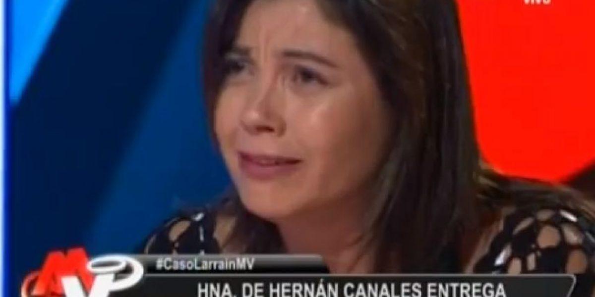 Hermana de víctima de Martín Larraín reveló entre lágrimas que a su cuñada le pagaron