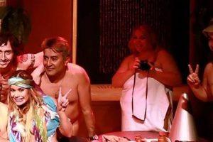 """Los actores de """"Desnudos al natural"""". Foto:Facebook/ Teatro La Olla. Imagen Por:"""
