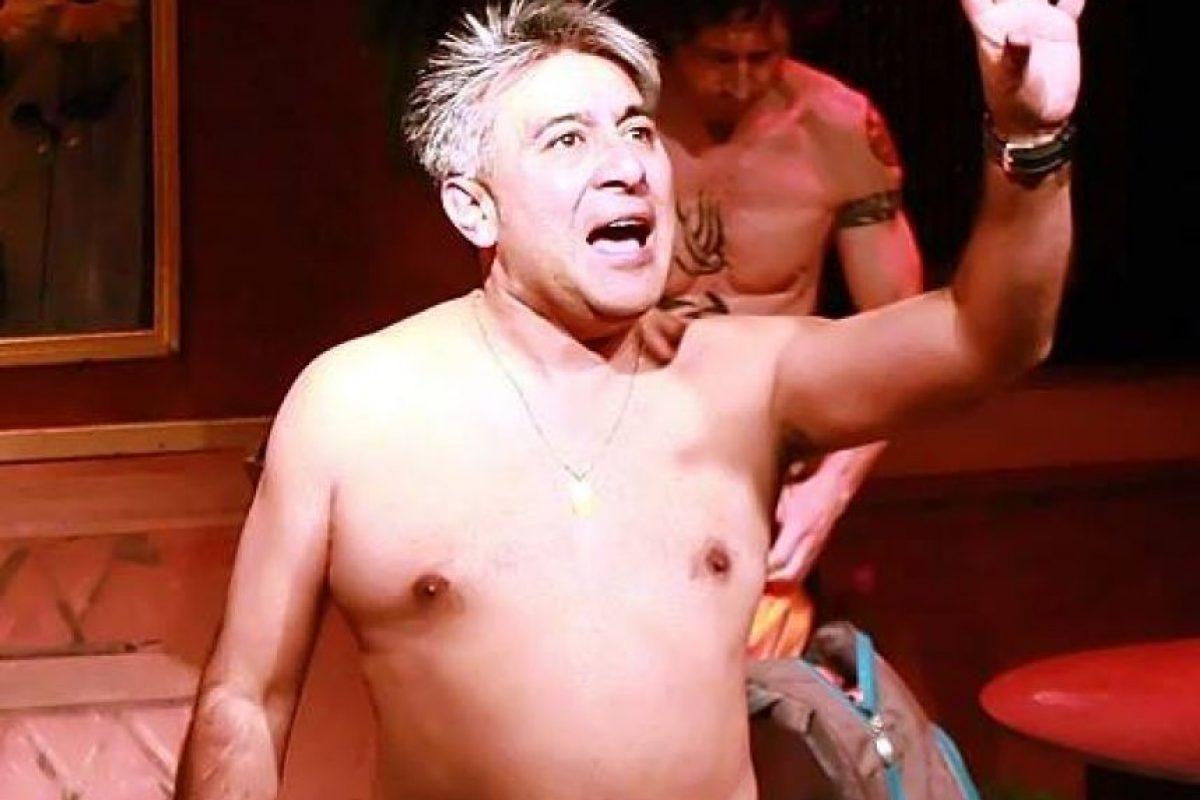 Los actores están desnudos de principio a fin. Foto:Facebook/ Teatro La Olla. Imagen Por: