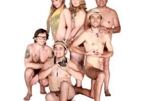 """Los actores de """"Desnudos al natural"""". Foto:Teatro La Olla. Imagen Por:"""