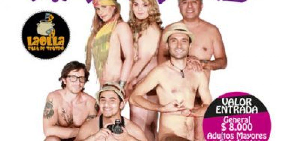 Desnudos, así deben ir a esta obra de teatro
