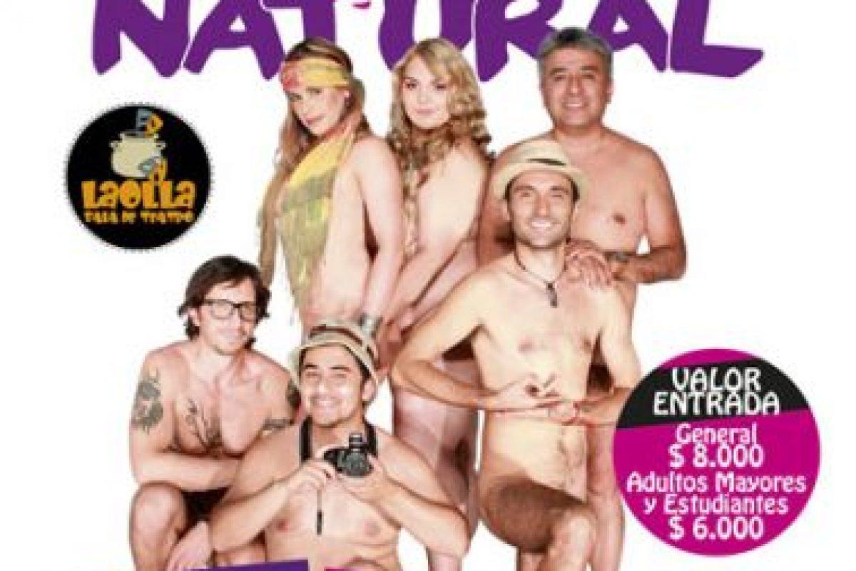 """Así se promociona """"Desnudos al natural"""" Foto:Teatro La Olla. Imagen Por:"""