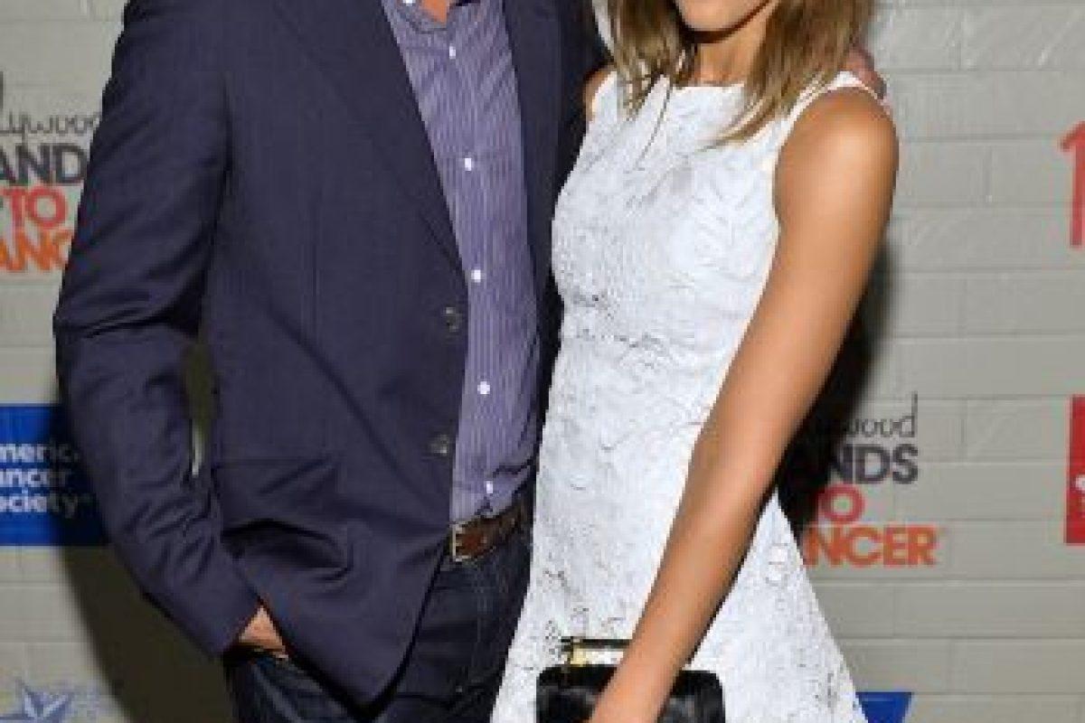 Se casó con el productor Cash Warren en 2008. Tienen dos hijos. Foto:Getty. Imagen Por: