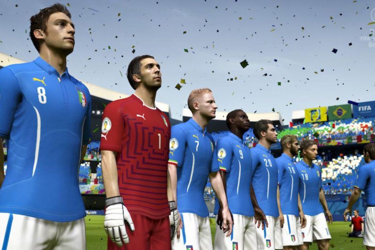 La garra italiana. Foto:EA Sports. Imagen Por: