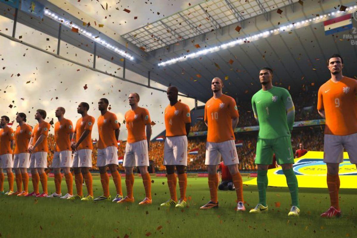 La selección nacional de Holanda. Foto:EA Sports. Imagen Por: