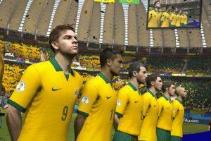 La selección brasileña de fútbol. Foto:EA Sports. Imagen Por: