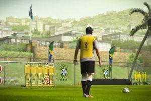 El entrenamiento en Brasil. Foto:EA Sports. Imagen Por: