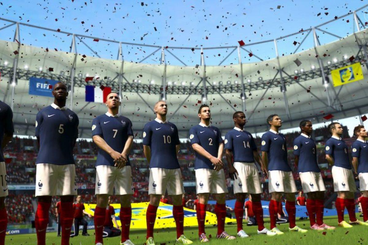 Francia quiere realizar un mejor papel que en el pasado Mundial. Foto:EA Sports. Imagen Por:
