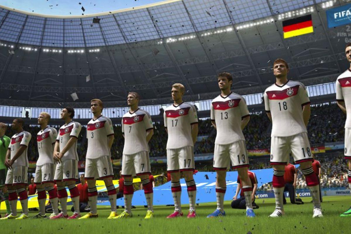 Alemania es favorito para ganar el Mundial. Foto:EA Sports. Imagen Por: